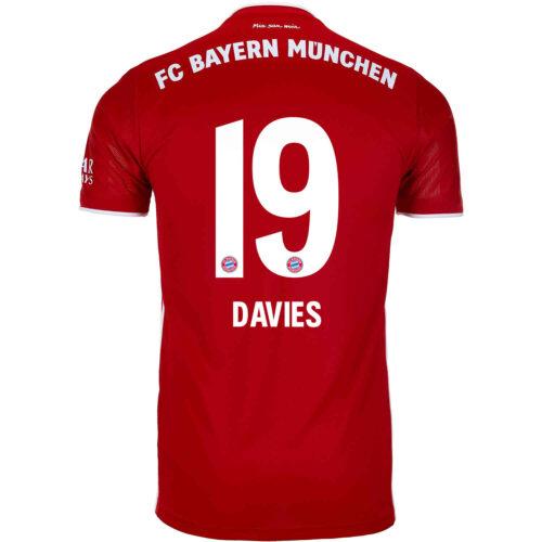 2020/21 Kids adidas Alphonso Davies Bayern Munich Home Jersey
