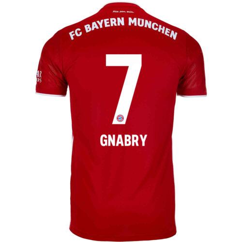 2020/21 Kids adidas Serge Gnabry Bayern Munich Home Jersey