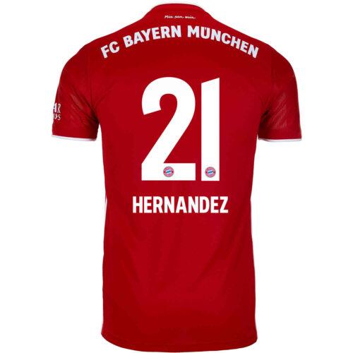 2020/21 Kids adidas Lucas Hernandez Bayern Munich Home Jersey