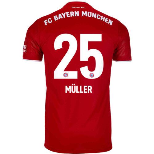 2020/21 Kids adidas Thomas Muller Bayern Munich Home Jersey