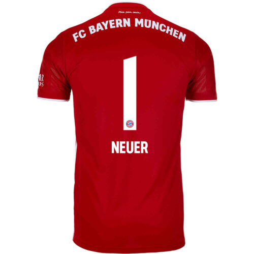 2020/21 Kids adidas Manuel Neuer Bayern Munich Home Jersey