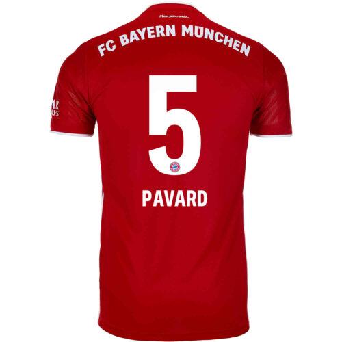 2020/21 Kids adidas Benjamin Pavard Bayern Munich Home Jersey