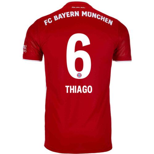2020/21 Kids adidas Thiago Bayern Munich Home Jersey