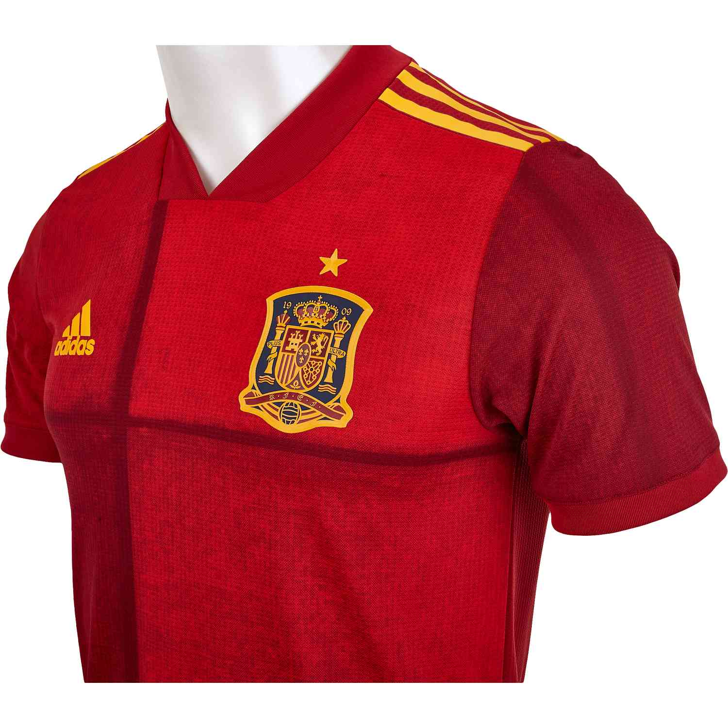 2020 adidas Spain Home Authentic Jersey - SoccerPro