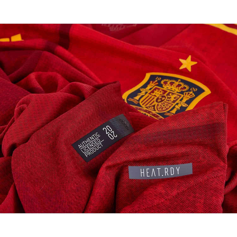 Categoría Moviente Horno  2020 adidas Spain Home Authentic Jersey - SoccerPro