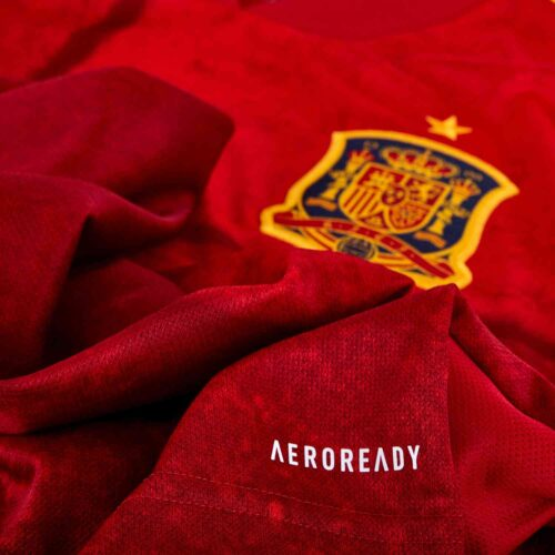 2020 adidas Spain L/S Home Jersey