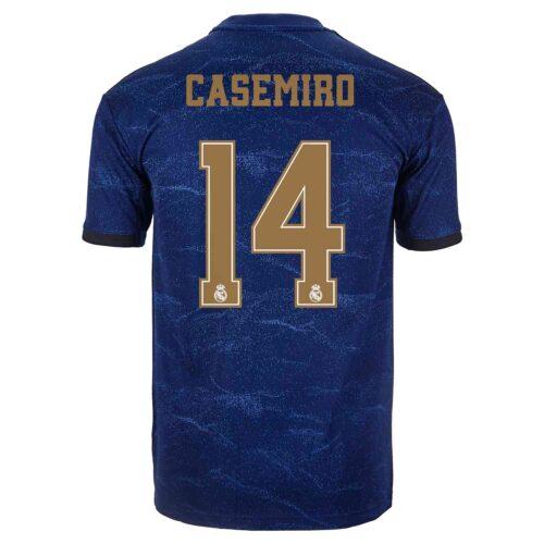 2019/20 Kids adidas Casemiro Real Madrid Away Jersey