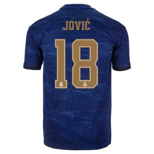 2019/20 Kids adidas Luka Jovic Real Madrid Away Jersey