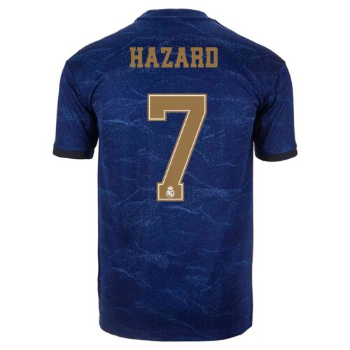 2019/20 adidas Eden Hazard Real Madrid Away Jersey