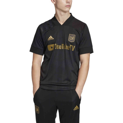 2020 adidas LAFC Home Authentic Jersey