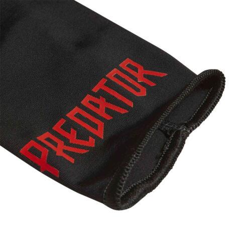 adidas Predator League Shin Guards – Black & Active Red