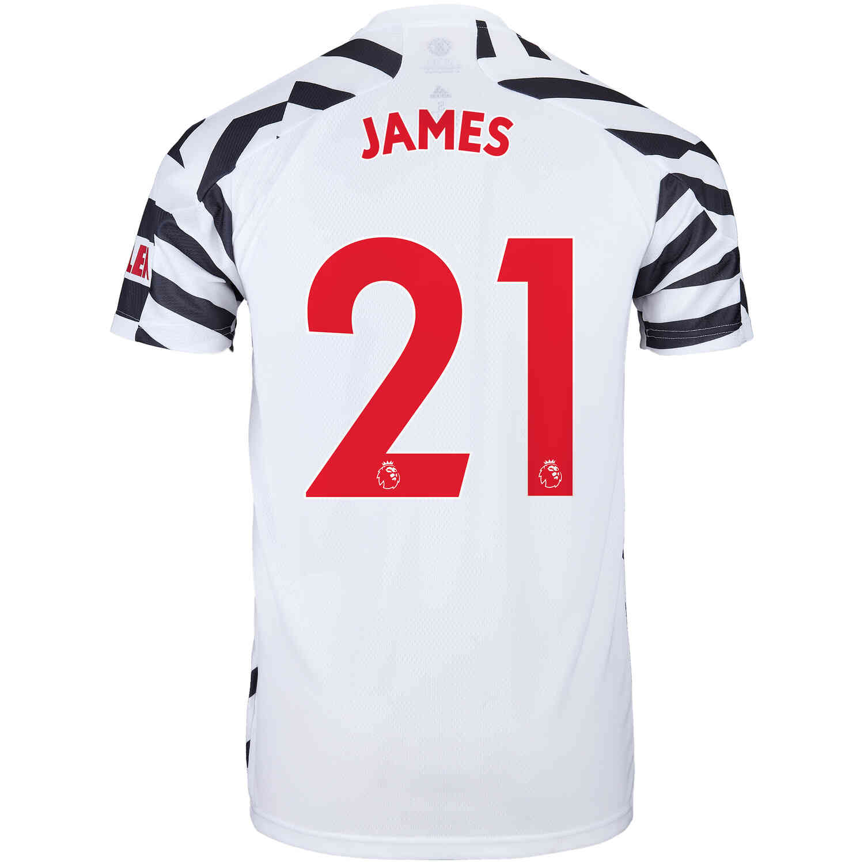 2020/21 adidas Daniel James Manchester United 3rd Jersey - SoccerPro