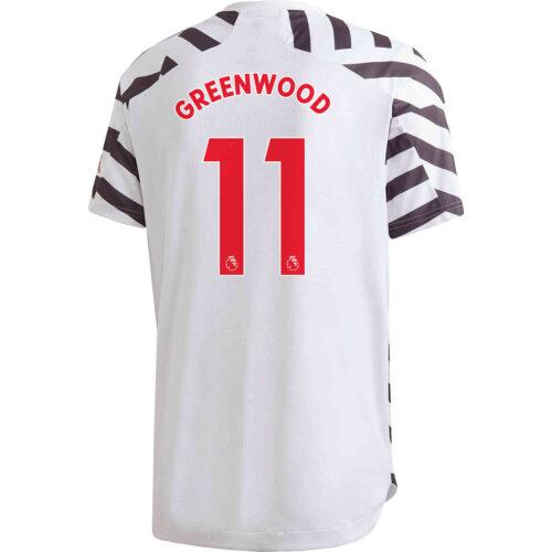 2020/21 adidas Mason Greenwood Manchester United 3rd Authentic Jersey
