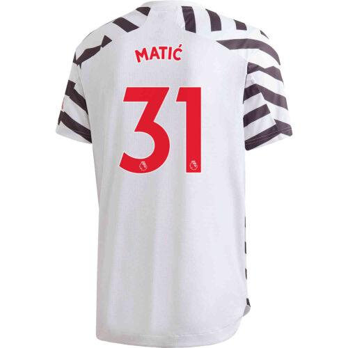 2020/21 adidas Nemanja Matic Manchester United 3rd Authentic Jersey