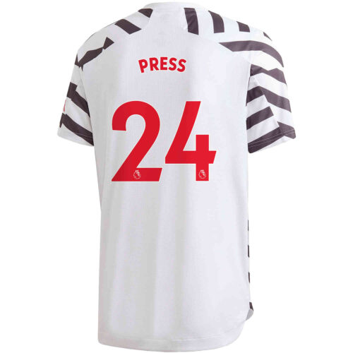 2020/21 adidas Christen Press Manchester United 3rd Authentic Jersey