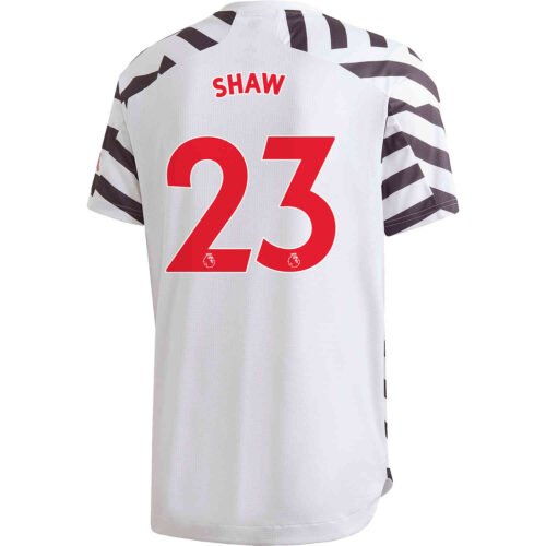 2020/21 adidas Luke Shaw Manchester United 3rd Authentic Jersey