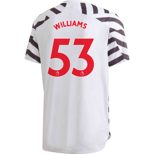 2020/21 adidas Brandon Williams Manchester United 3rd Authentic Jersey