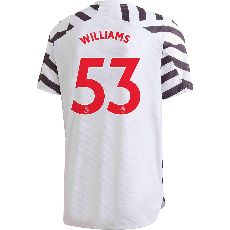 2020/21 adidas Brandon Williams Manchester United 3rd Authentic ...