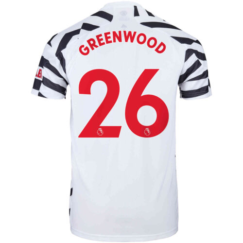2020/21 Kids adidas Mason Greenwood Manchester United 3rd Jersey