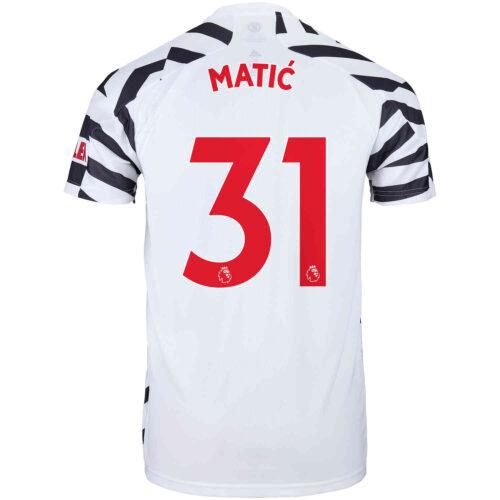 2020/21 Kids adidas Nemanja Matic Manchester United 3rd Jersey