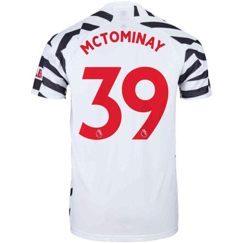 2020/21 Kids adidas Scott McTominay Manchester United 3rd Jersey