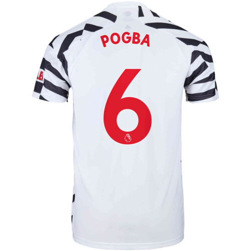 2020/21 Kids adidas Paul Pogba Manchester United 3rd Jersey