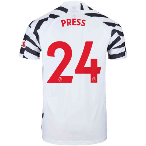 2020/21 Kids adidas Christen Press Manchester United 3rd Jersey