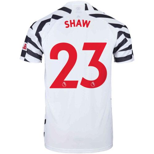2020/21 Kids adidas Luke Shaw Manchester United 3rd Jersey