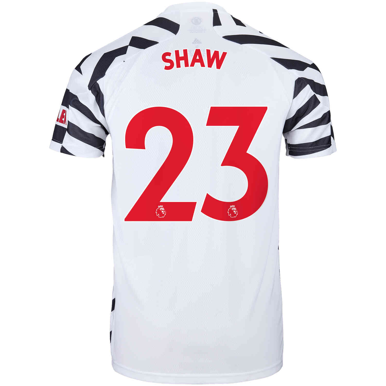 2020/21 Kids adidas Luke Shaw Manchester United 3rd Jersey - SoccerPro