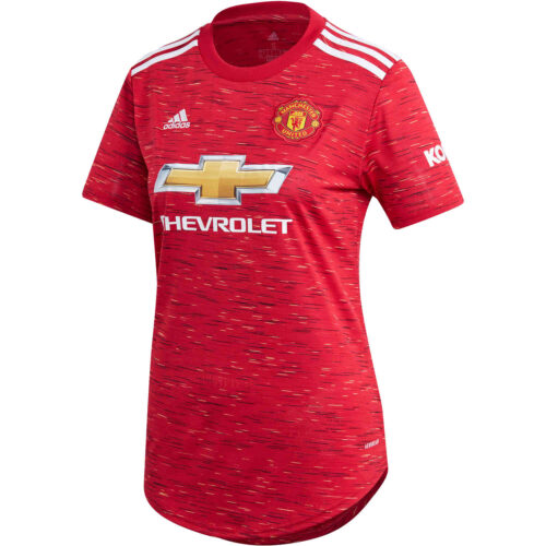 Womens adidas Manchester United Home Jersey – 2020/21