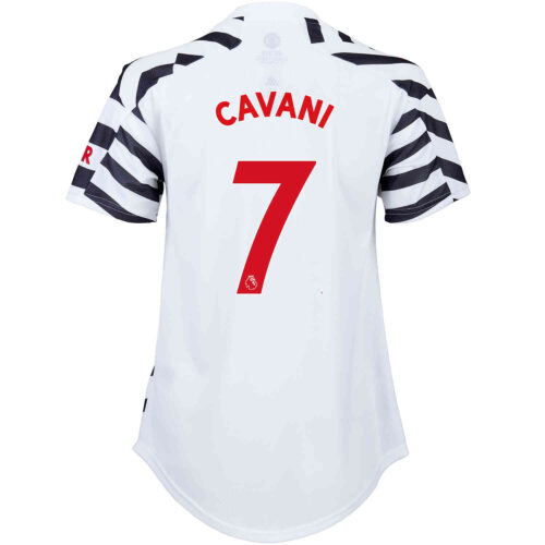 2020/21 Womens adidas Edinson Cavani Manchester United 3rd Jersey