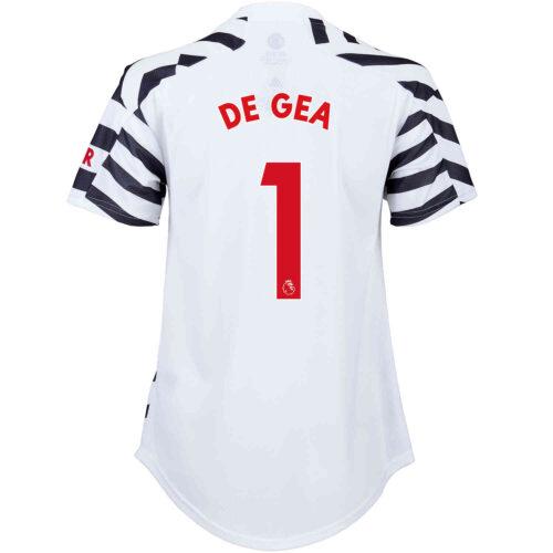 2020/21 Womens adidas David De Gea Manchester United 3rd Jersey