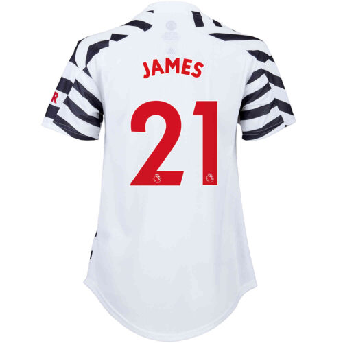 2020/21 Womens adidas Daniel James Manchester United 3rd Jersey