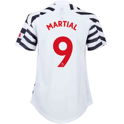 2020/21 Womens adidas Anthony Martial Manchester United 3rd Jersey