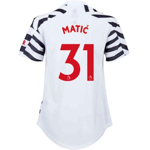 2020/21 Womens adidas Nemanja Matic Manchester United 3rd Jersey