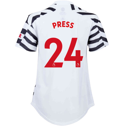2020/21 Womens adidas Christen Press Manchester United 3rd Jersey