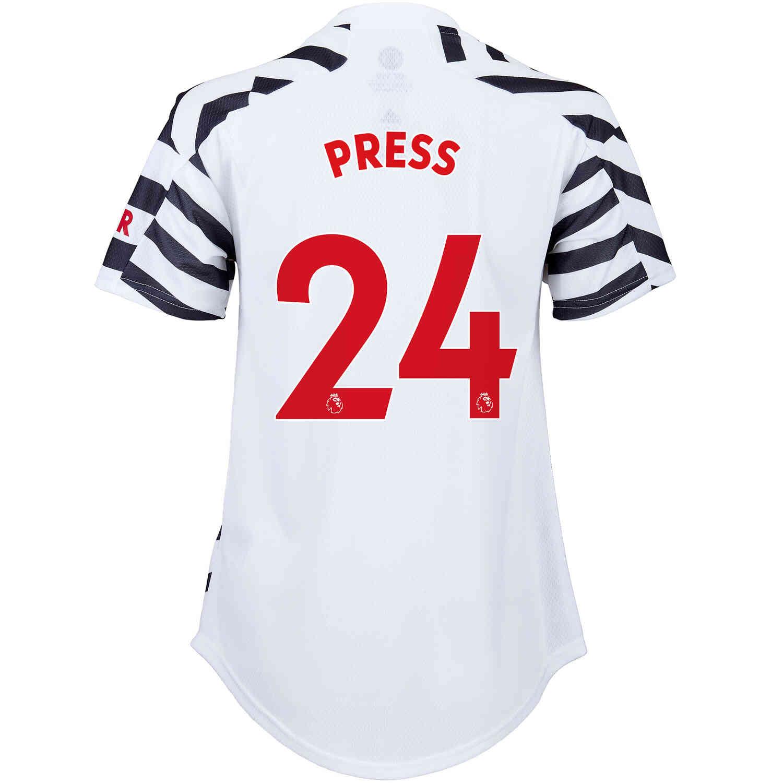 2020/21 Womens adidas Christen Press Manchester United 3rd Jersey - SoccerPro