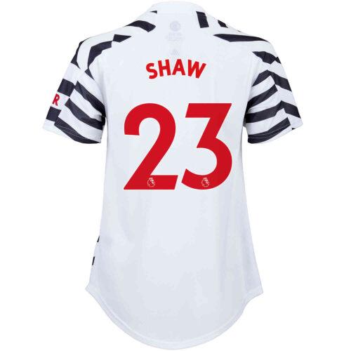 2020/21 Womens adidas Luke Shaw Manchester United 3rd Jersey