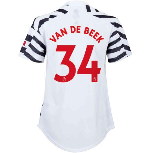 2020/21 Womens adidas Donny van de Beek Manchester United 3rd Jersey