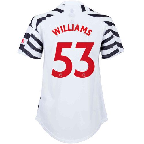 2020/21 Womens adidas Brandon Williams Manchester United 3rd Jersey