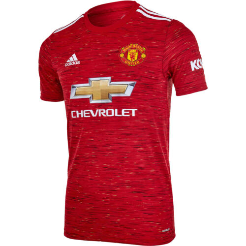 2020/21 Kids adidas Manchester United Home Jersey