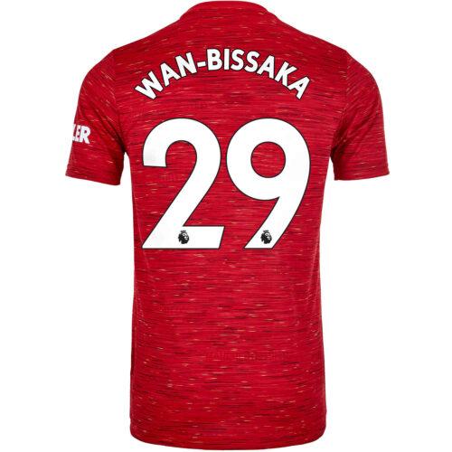 2020/21 Kids adidas Aaron Wan-Bissaka Manchester United Home Jersey