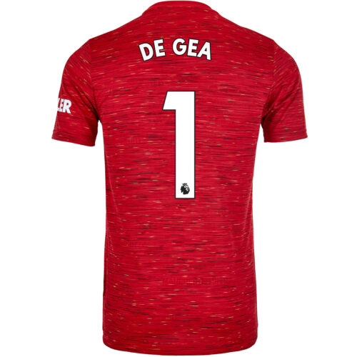 2020/21 Kids adidas David De Gea Manchester United Home Jersey