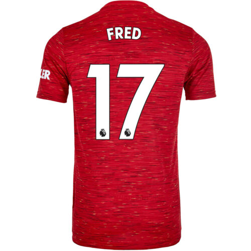 2020/21 Kids adidas Fred Manchester United Home Jersey