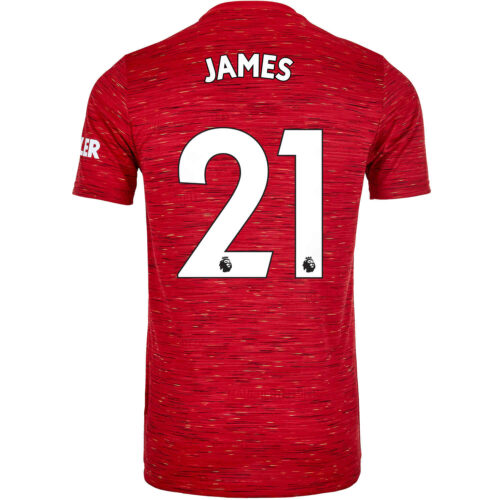 2020/21 Kids adidas Daniel James Manchester United Home Jersey