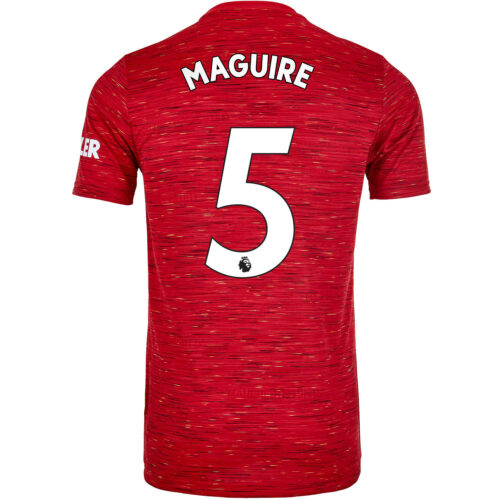 2020/21 Kids adidas Harry Maguire Manchester United Home Jersey