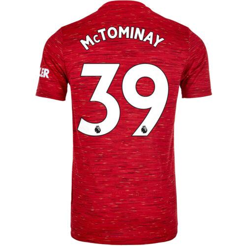 2020/21 Kids adidas Scott McTominay Manchester United Home Jersey
