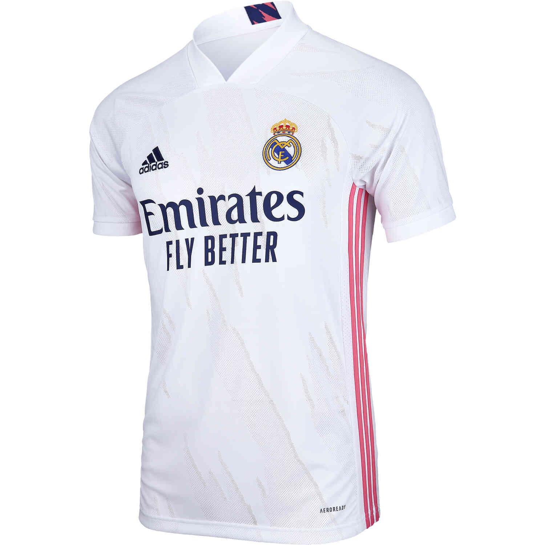 2020/21 adidas Real Madrid Home Jersey - SoccerPro
