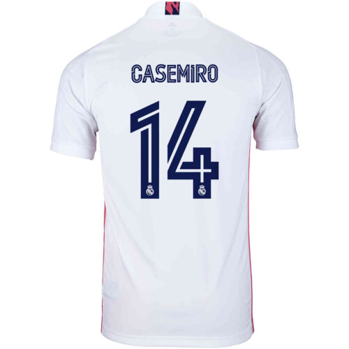 2020/21 adidas Casemiro Real Madrid Home Jersey