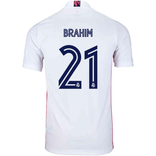 2020/21 adidas Brahim Diaz Real Madrid Home Jersey